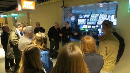 QVC engineer Shawn Eckert explains the function and responsibilities of QVC's Master Control.